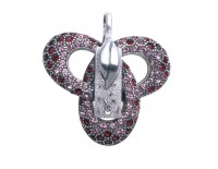 """Brooch """"Bonds of love"""" In the collection of water and fire"""